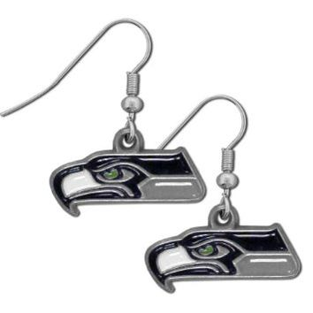 NFL Seattle Seahawks Dangle Earrings