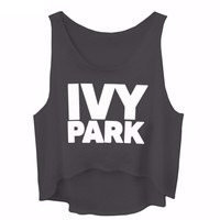 Ivy Park Crop Muscle Tank Top