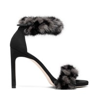 Stuart Weitzman Bunnylove Sandal - Shop luxury Shoes | Editorialist