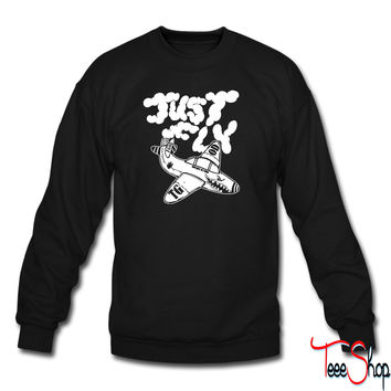 Just Fly crewneck sweatshirt