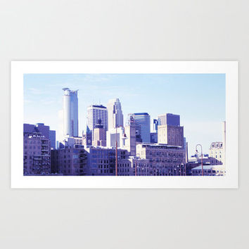 Minneapolis Art Print by Whitney Werner