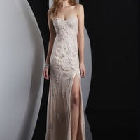 Strapless Sweetheart Formal Prom Dress Jasz Couture 5100