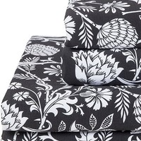 Elysian Fields [Black] | QUEEN SHEET SET [PREORDER]