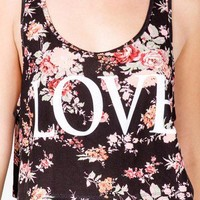 Floral Love Tank | FOREVER 21 - 2047421123