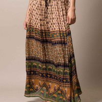 Bagru Block Print Skirt
