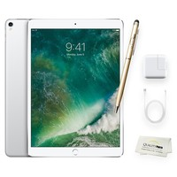 Apple iPad Pro 10.5 Inch Wi-Fi 64GB Silver + Quality Photo Accessories (Latest Apple Tablet) 2017 Model..