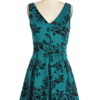 ModCloth Sleeveless A-line Pizzazz Aplenty Dress