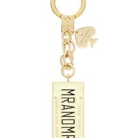 Kate Spade Mr. And Mrs. Keychain Multi ONE