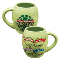 Teenage Mutant Ninja Turtles Oval Close-Up Mug
