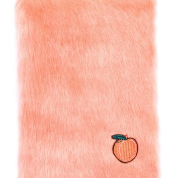 Fluffy Peach Notebook