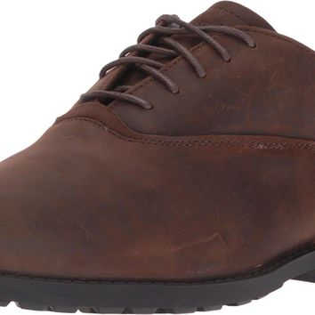 Timberland Men's Fitchburg WP Oxford Brown 10 E - Wide '