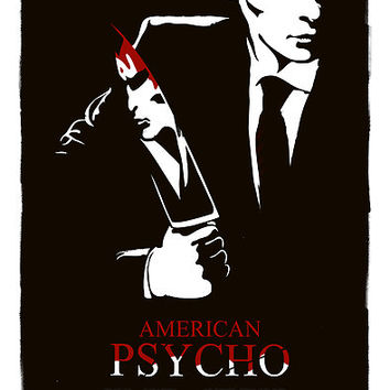 'American Psycho (2000) Custom Poster' Poster by Edward B.G.
