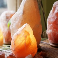 Small Himalayan Salt Crystal Lamps | Amber | Fair Trade | So Well