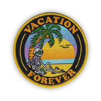 VACATION FOREVER Iron-On Patch