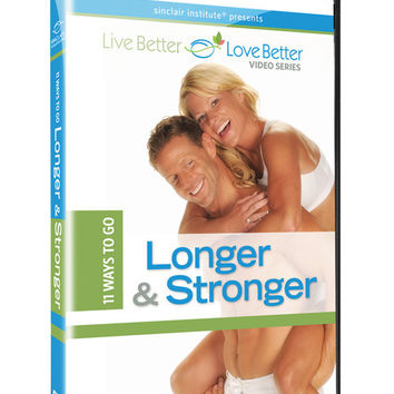 10 Ways To Go Longer And Stronger Dvd