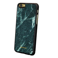 Emerald Green Serpentine Marble iPhone Case