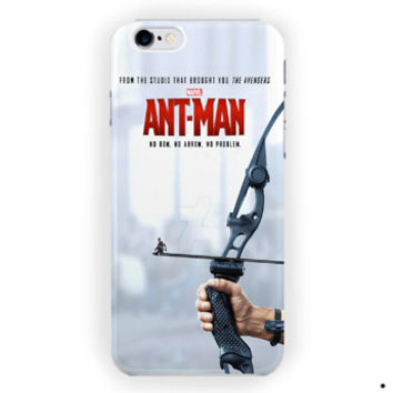 Antman Movie Marvel Poster For iPhone 6 / 6 Plus Case