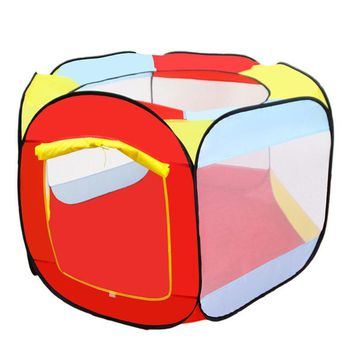 Portable Child Tent Foldable Balls Pool Children Kids Toy Tent Outdoor and Indoor Play House Baby Kids Gifts