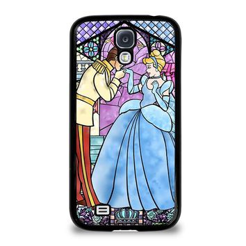 CINDERELLA ART GLASSES Disney Samsung Galaxy S4 Case Cover