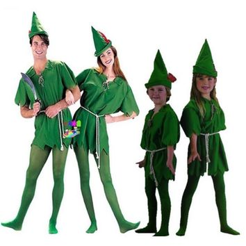 Adult Peter Pan Unisex Costume