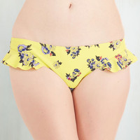 Mink Pink Pinup Well Worth the Wade Swimsuit Bottom