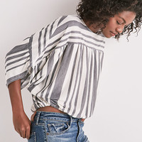 Long Sleeve Stripe Dolman Top | Lucky Brand