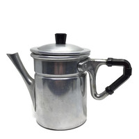 Napoletana Neapolitan Aluminum Stove Top Espresso or Coffee Pot