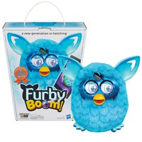 Furby Boom Scallops Figure by Hasbro (Teal)