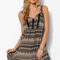 Staring At Stars Lace-Inset Babydoll Dress - Urban Outfitters