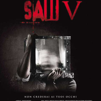 Saw V (Italian) 11x17 Movie Poster (2008)