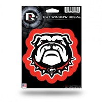 Georgia Bulldogs Die Cut Window Decal | UGA Window Decal | Georgia Bulldogs Vinyl Decal
