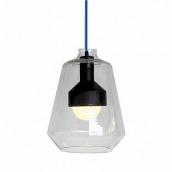 IKEA simple dinning room countryside glass vintage industrial pendant lamp light