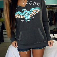 BILLABONG Feelin Free Womens Hoodie