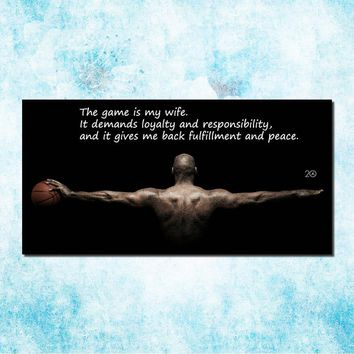 Michael Jordan Shoes MJ 23 Chicago Bulls NBA MVP Basketball Silk Canvas Poster 20x40inch Picture For Room Decor (more)-9