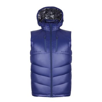 New Arrive Puffer Lightweight Quilted Duck Down Vest Men Hooded Sleeveless Gilet Homme Bodywarmer Outdoors Jacket Chaleco Hombre
