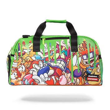 Sprayground Nick 90's Slime Duffel Bag