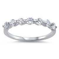 1.7TCW Lab Diamond Wedding Band Promise Ring