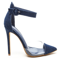 ADYSS d'ORSAY PUMP - DENIM