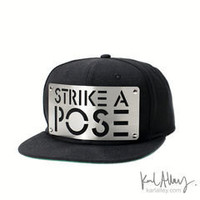 Strike a Pose Snapback Hat