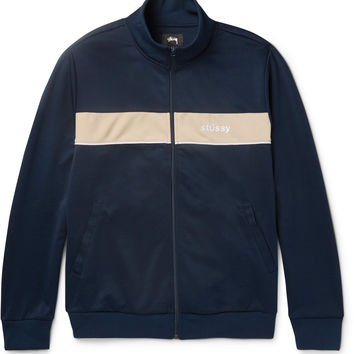Stüssy - Striped Jersey Track Jacket
