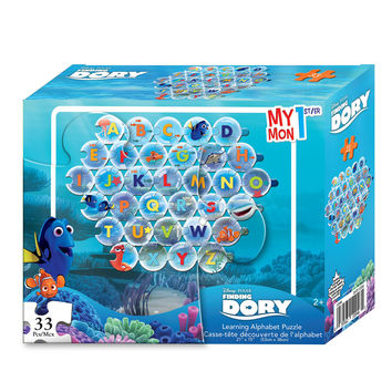 Finding Dory My 1st Learning Alphabet Puzzle [33 Pieces]