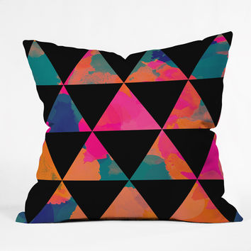 Rebecca Allen These Mountains Sing Throw Pillow
