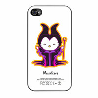 Hello Kitty Love Maleficent Disney iPhone 4s Case