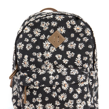 Thriving Miss Daisy Canvas Backpack