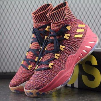 LMFUX5 Adidas Crazy Explosive PK PrimeKnit SM Veags Boost Mid Basketball Shoes CQ0397 Sneaker