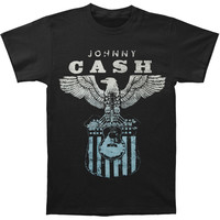 Johnny Cash Men's  Eagle T-shirt Black