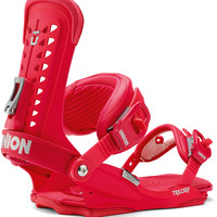 Union Trilogy Womens Snowboard Bindings - Red