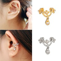 New Fashion Women Queen No Piercing Wrap Earring