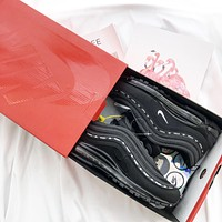Nike Air Max 97 x Kappa Fashionable and casual sports shoes-1