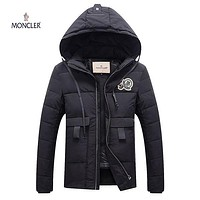 Boys & Men Moncler Fashion Down Cardigan Jacket Coat Hoodie